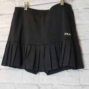 FILA Activewear Pleated Skort Golf Tennis Medium